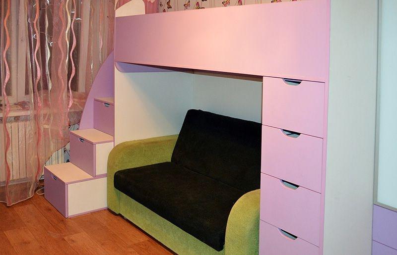Мебель для детских комнат - фото.